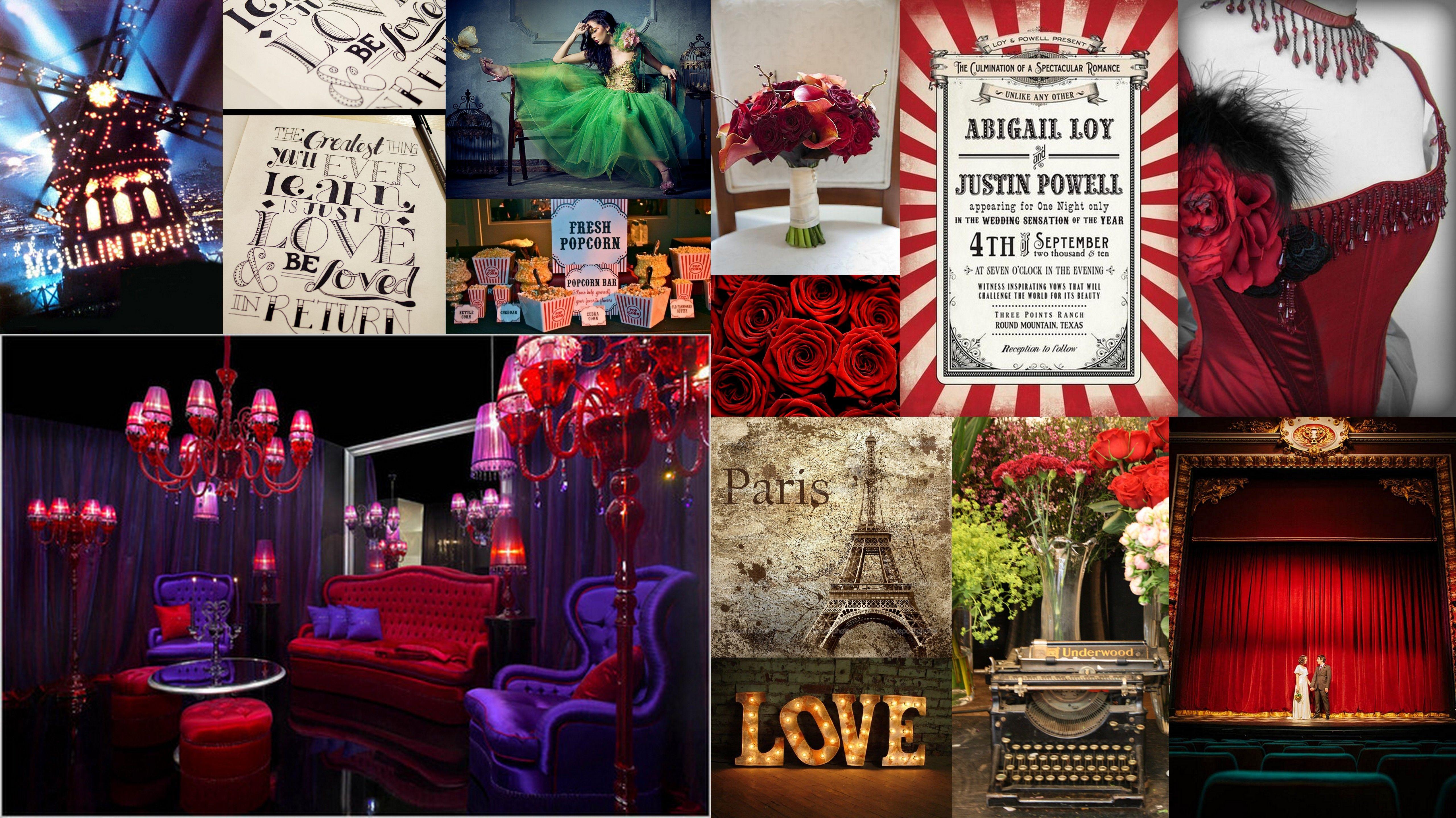 Moulin Rouge Wedding  Moulin Rouge Wedding  Pinterest