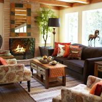 Living room from Pier 1   Living/Family Room   Pinterest