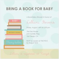 Story book theme baby shower