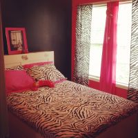 Zebra print hot pink room cute teen room | Party and home ...