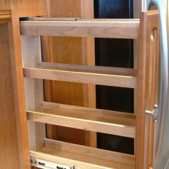 Kitchen Cabinet Spice Rack Lights For Perhaps A Pull Out Pinterest