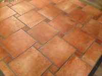 Terra cotta floors | cottage | Pinterest