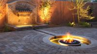 Fire pit and water feature | Yard - Water Feature & Fire ...