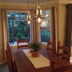 Kitchen Table Light Fixtures Upholstered Chairs With Casters Nautical Lights Over For The Home Pinterest