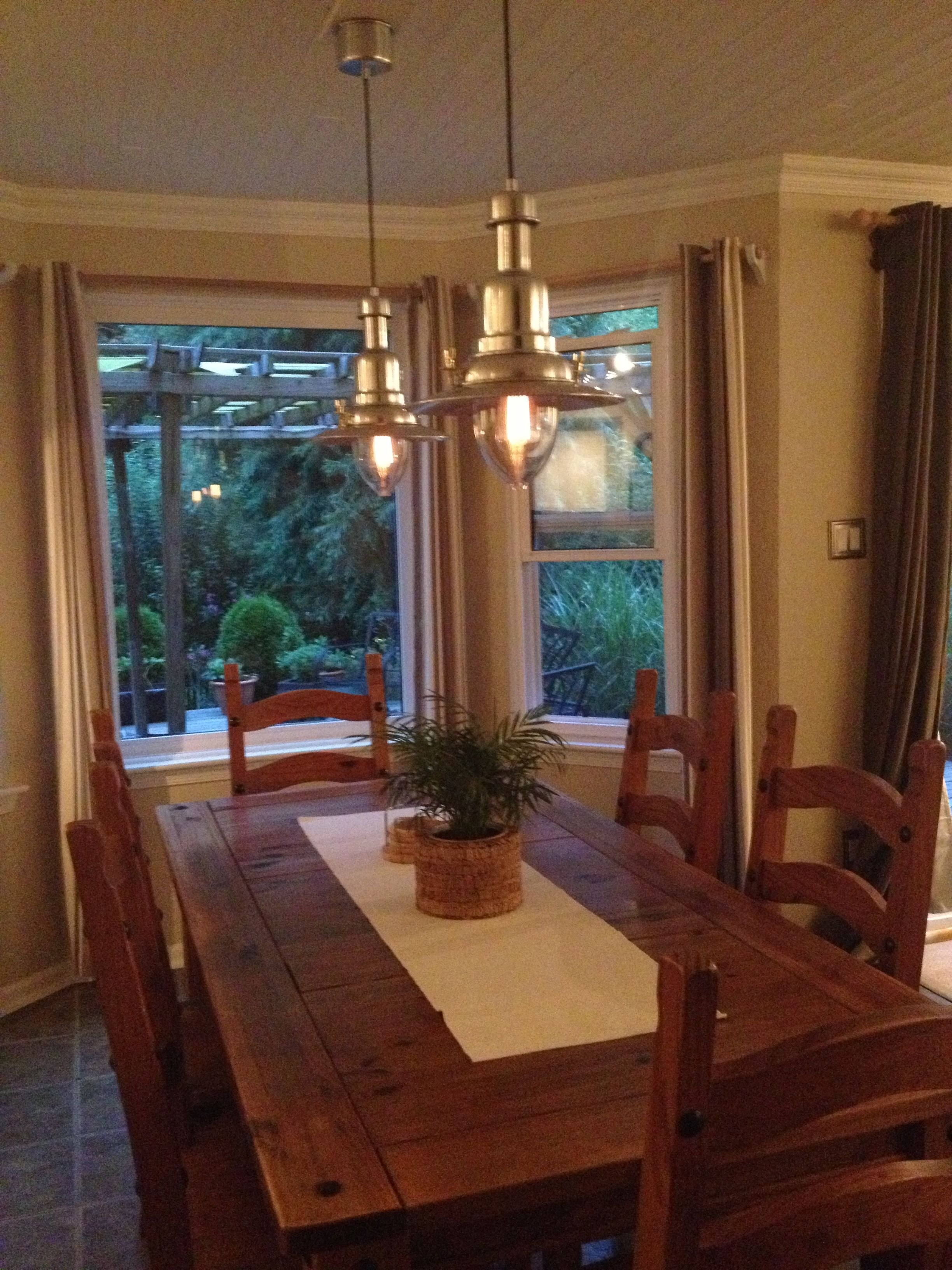 lighting over kitchen table backslash in share
