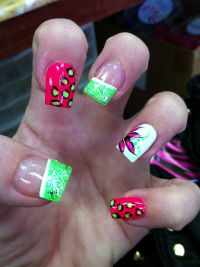 Spring time nails | Nail designs | Pinterest