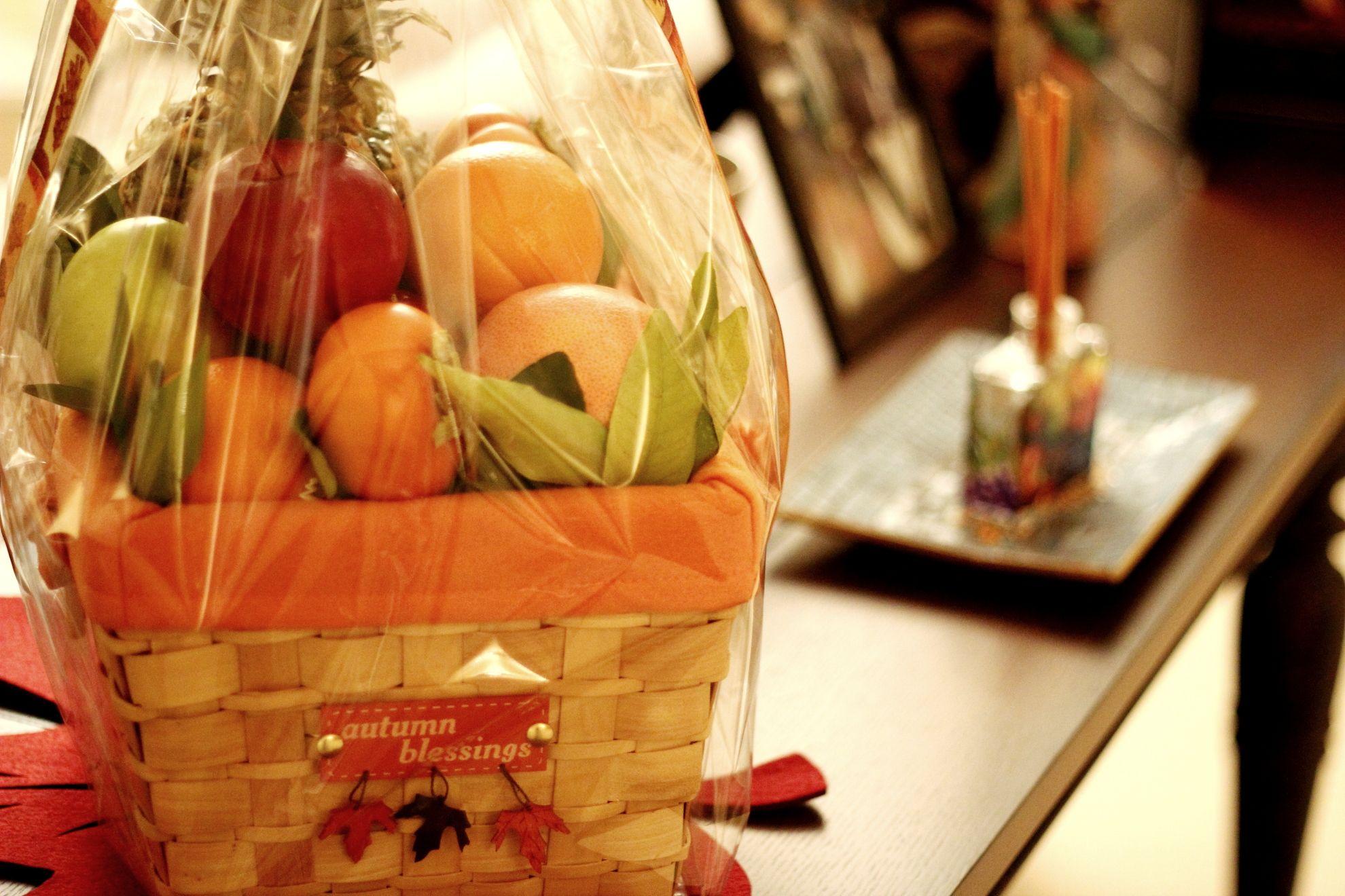 My DIY Fruit Basket