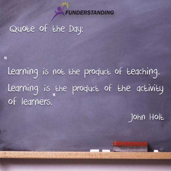 John Holt Quotes Education. Quotesgram