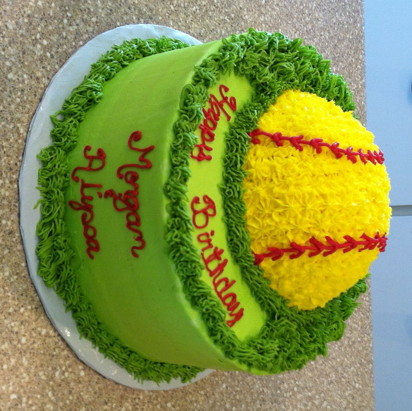 Softball Cake Ideas And Designs Page 3