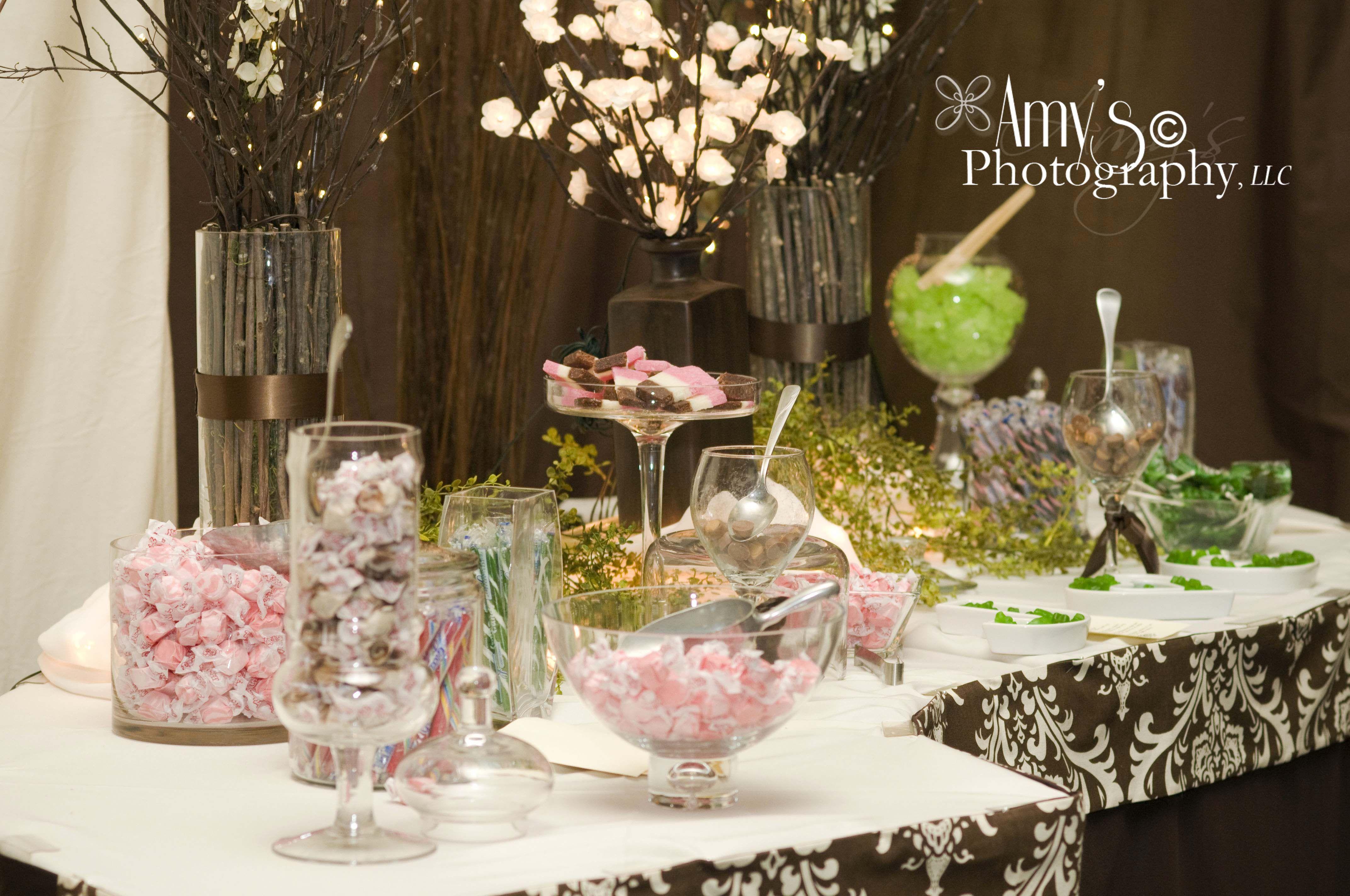 Wedding Reception Candy  cute wedding ideas  Pinterest