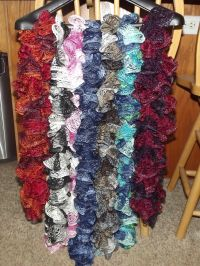 Handmade Sashay Scarves | crochet | Pinterest