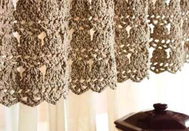 Simple Curtain Valance