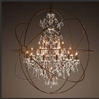 Orbit chandelier