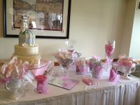 Bridal shower candy table | wedding ideas | Pinterest