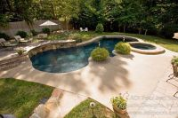 Backyard Pool Designs Landscaping Pools