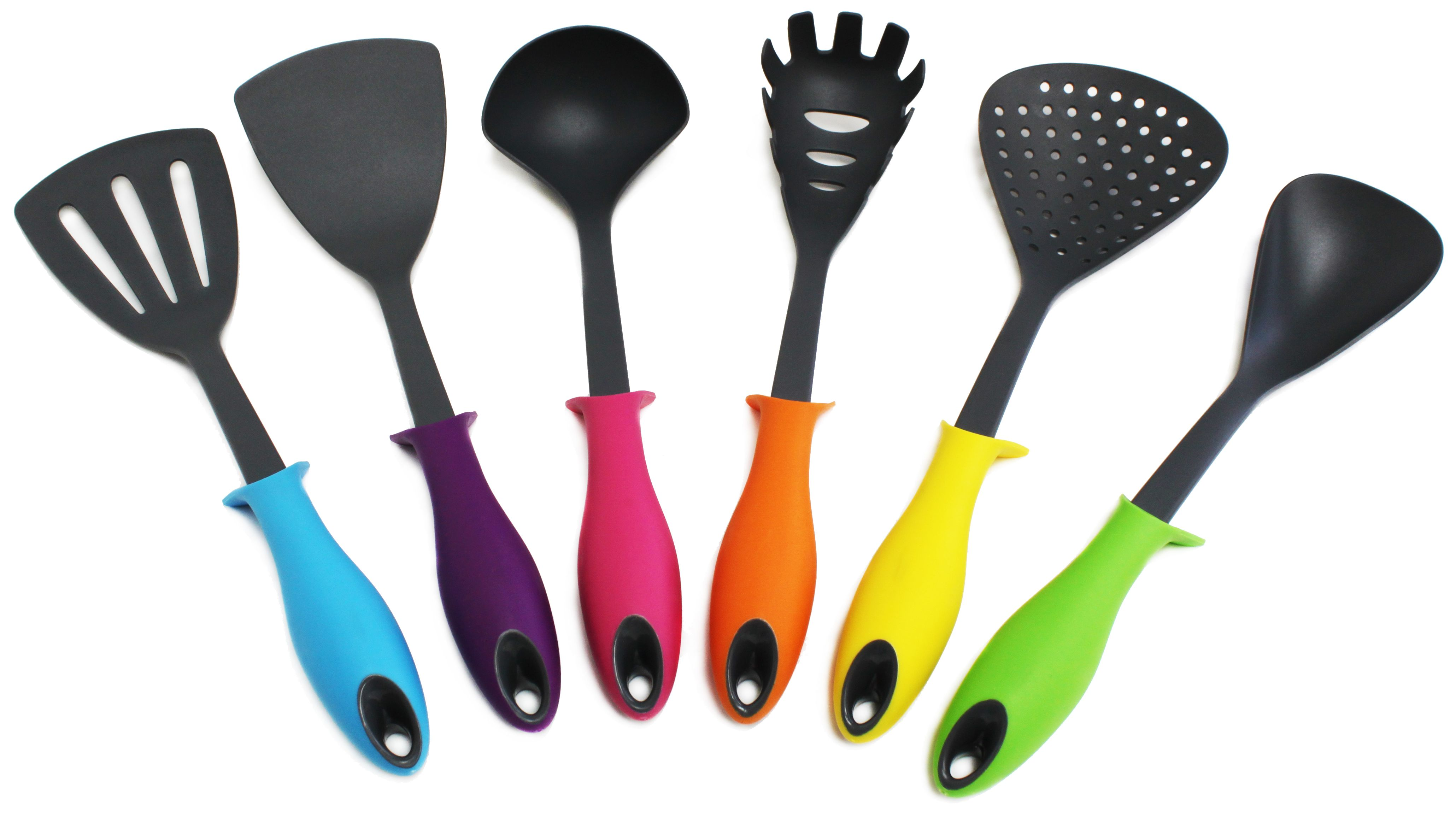 kitchen utensil set outdoor kitchens images colorful 7 piece love your