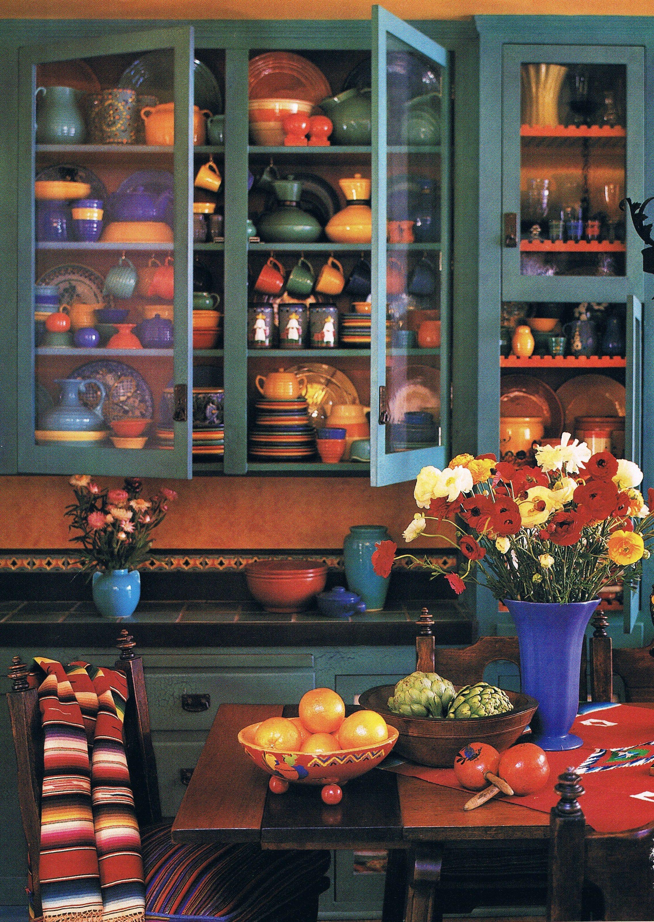 colorful kitchen accessories classics cabinets hacienda style mexican interior design ideas pinterest