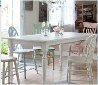 Shabby Chic Kitchen table | Kitchen options | Pinterest