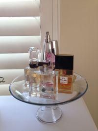 Cake stand perfume holder :)