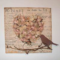 Pinterest Shabby Chic Card | Rachael Edwards