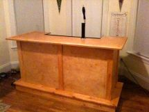 Home Bar with Kegerator Built