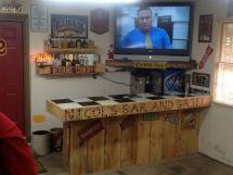 DIY Garage Man Cave Bar Ideas