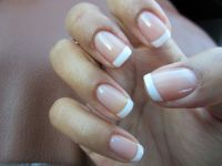 Nice, french manicure | Makeup/nails | Pinterest