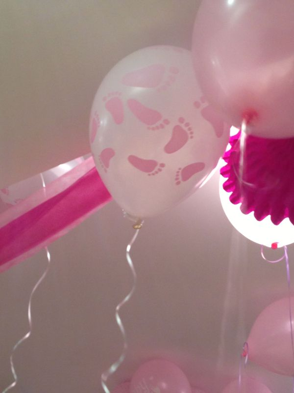 Baby Feet Shower Balloons Decorations