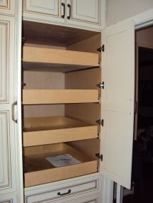 Custom Pull Out Pantry Drawers
