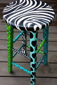 Artsy on Pinterest | Glass Art, Painted Chairs and Painted ...