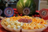 Nautical baby shower food | Future | Pinterest