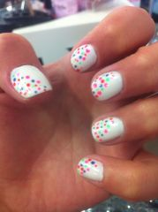 spring nail design cute nails