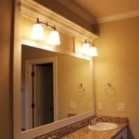 Custom Framed Bathroom Mirror