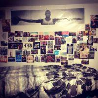 Dorm room wall :) | Decor | Pinterest