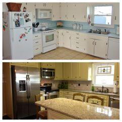 Kitchen Remodels Before And After Tile Backsplash Remodel Redo Pinterest