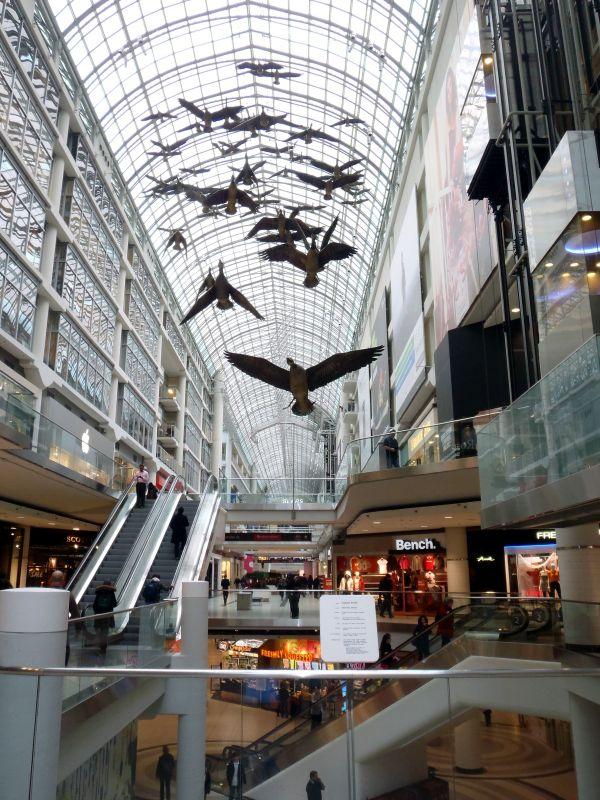 Toronto Eaton Centre Canadian Eh