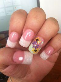 Daisy Nail Design | My Nail Art | Pinterest