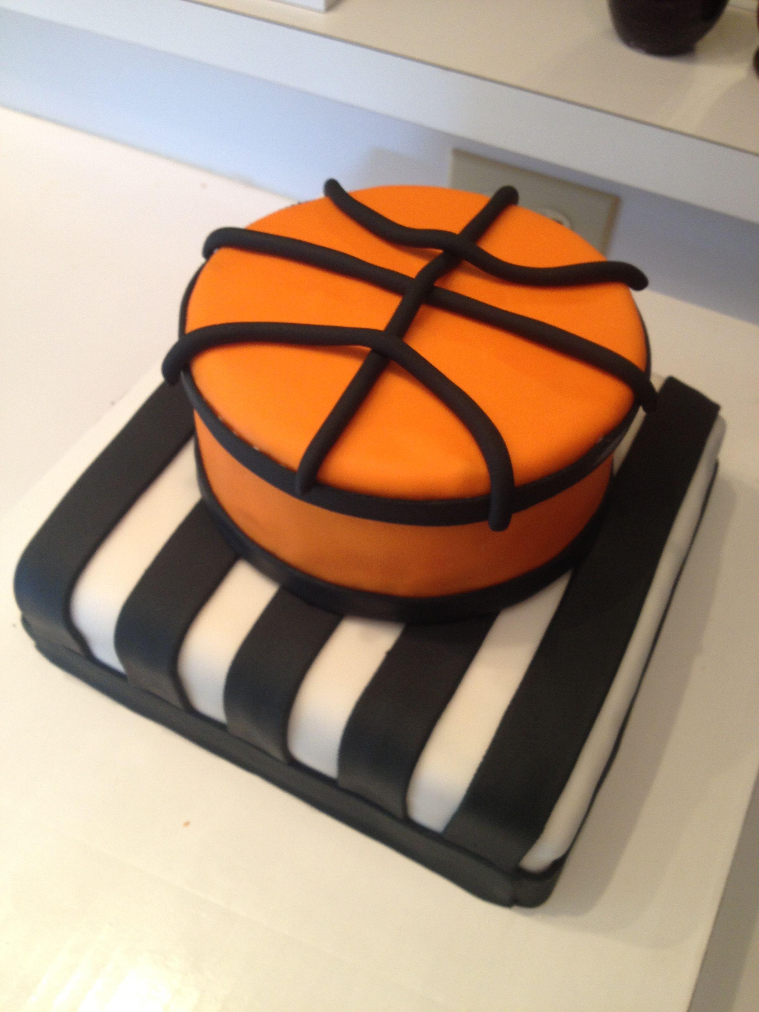 Pin Basketball Cake Ideas Cake