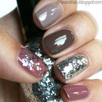 Pretty fall nails | My Style | Pinterest