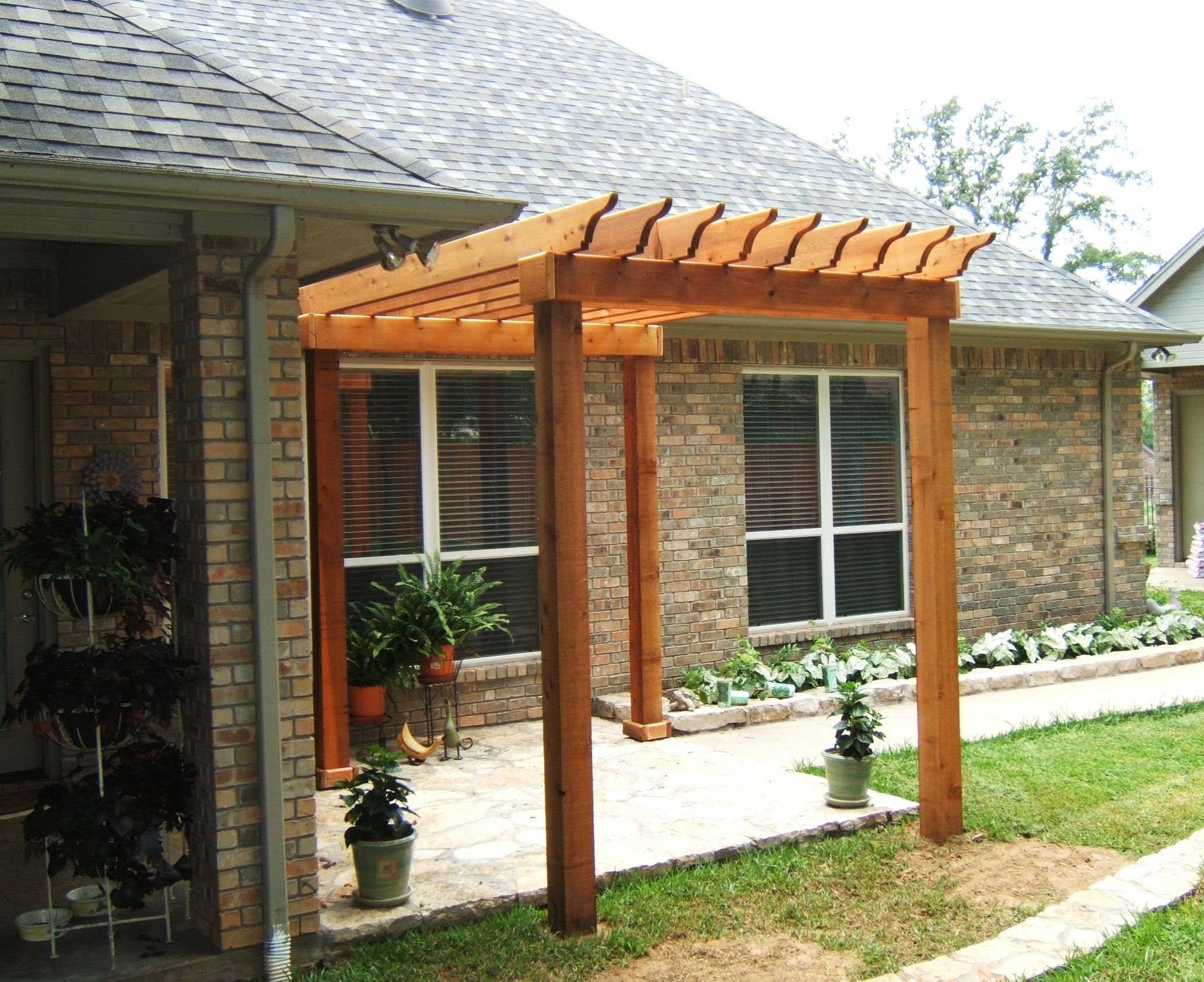 Pergolas For Small Backyards Inspiration Pixelmaricom