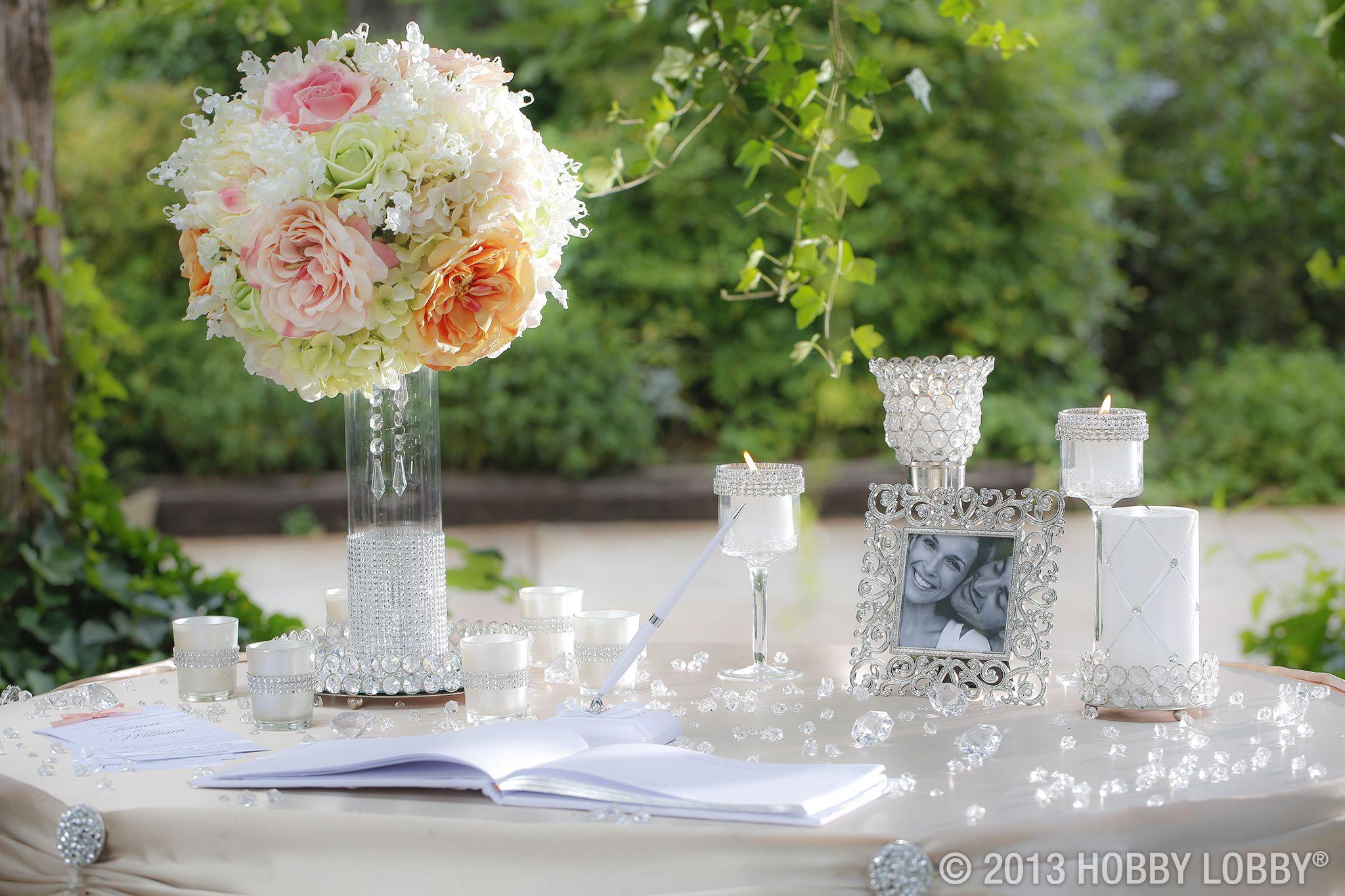 Pin by Hobby Lobby on A Glittering Affair Wedding  Pinterest