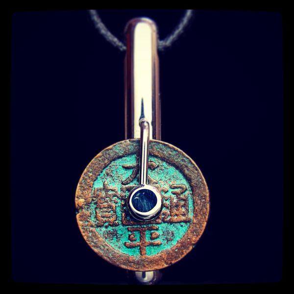 Pin Laconic Contemporary Art Jewelry