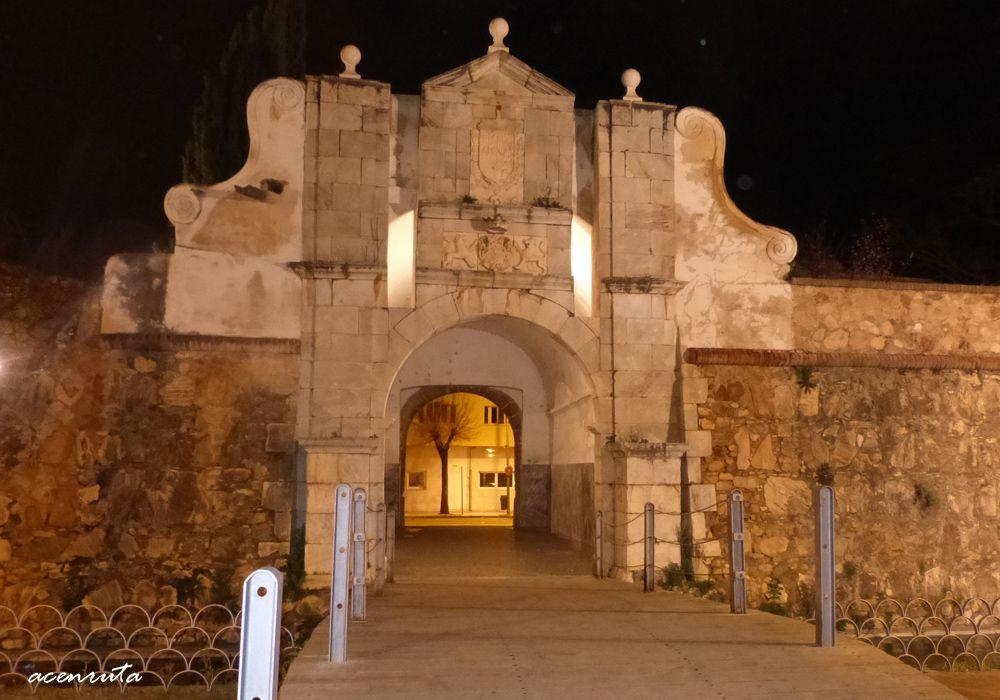 Badajoz. Puerta del Pilar