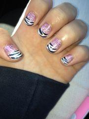 shellac nail design makeup