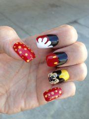 disney nail art nails