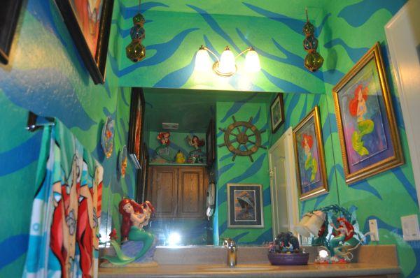 Little Mermaid Bathroom Home