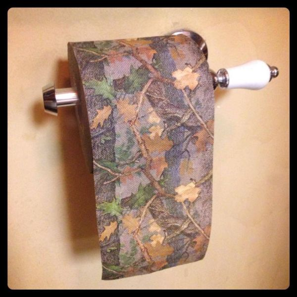 Camo Toilet Paper Manliness