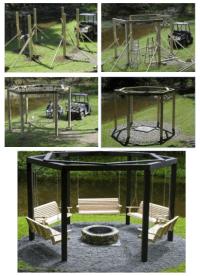 swing pavilion fire pit