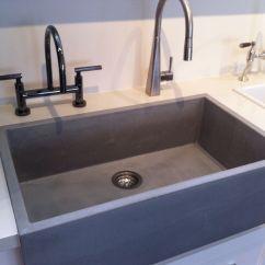 Concrete Kitchen Sink Home Depot Cabinets Prices Farm Sexy Pinterest