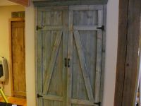 Homemade barn doors for laundry closet. | Home DIY ...